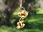 Teapot and Cup Pendant