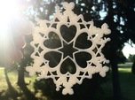 Mothers Snowflake Ornament