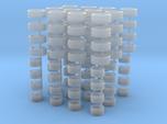 ATS Cup-Felgen und Reifen für H0 1:87 PKW - 12 Set