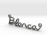 BLANCA Script First Name Pendant