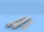 1/35 Torpedo Tubes (aft pair) for PT Boats
