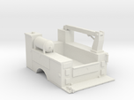 MOW Truck Bed With Fixed Crane 1-87 HO Scale