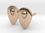 Avocado earrings for the food lover