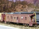 Western Pacific (WP & SN) Caboose N Scale
