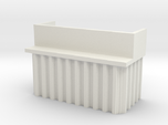 N Scale Bridge Abutment Sheet Piling (H55 W80)