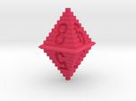 d8 Pixel Pyramid