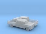 1/160 2X 1960-61  Chevrolet C10 Fleetside  Crewcab