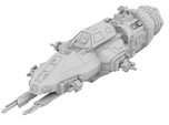 1:500 Rocinante - The Expanse [+ Guns]