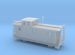 DMIR K1 Steelside Early Caboose - Nscale
