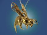 Western Honey Bee Pendant