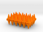 48 Traffic Cones, Small, 1/64