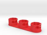 Holder - Dyson V8 x3 Tool - Wall Mount