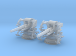 1/350 UNS 5 inch 25 Cal. GUN MOUNT MARK 40 SET
