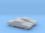 1/160 2X 1968 Pontiac Bonneville Sedan