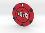 The Tops Chip Pendant