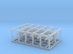 1/1000 Scale Mini Scamper Black-Ops Set X10