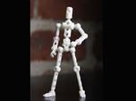 Moli Female DIY Poseable Figure Kit