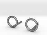 minimal stud earrings