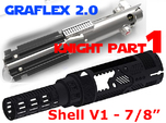 Graflex2.0 - Knight Chassis Part 1 V1 - Main shell