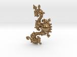 Kleinian Pearls Fractal Pendant