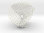 Color Enneper surface irregular holes weave