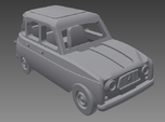 Renault 4 Hatchback 1.gen 1:160 scale (Lot of 6 )