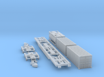 Containertragwagen Sgnss mit 3x 20ft Container
