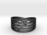 Bass Clef Ring