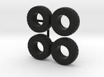 1/64 Wheel loader tires