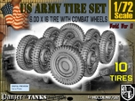 1-72 Military 600x16 Tire Set2