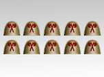 Crossed Axes V.7 Shoulder Pads x10