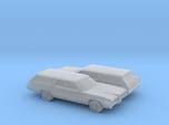 1/160 2X 1971 Ford LTD Station Wagon