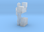 S Freight Worker Stacking Boxes Figure