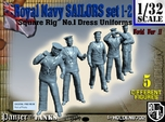 1-32 Royal Navy Sailors Set1-2
