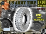 1-16 Military Tire 1200x20