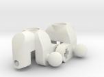 Mini MacPherson strut hubs
