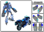 TFP Arcee Blasters
