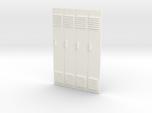 1/24 - Block of 4 Locker Fronts