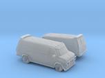1/120 2X GMC Vandura Van
