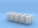 1/24 Scale Oil Filter (10 Pack)