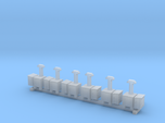N Scale 6x Switch Heater