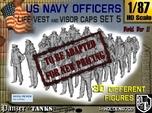 1-87 USN Officers KAPOK Set5