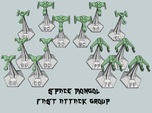 MicroFleet Space Mongol Fast Attack Group (14pcs)