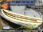 1-35 Elco 80 Foot Rail For PT Boat