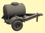 28mm scale water trailer - downloadable