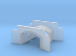 Tunnel portal two track - T scale 1:450