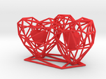 3D Hearts Wedding gift