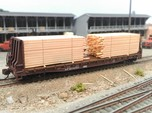N  Lumber Load For 1 Flat Car: WOT, MTL, Athearn