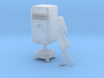 1/72 Minmay and Cola Bot Macross TV