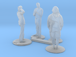 HO Scale People Standing